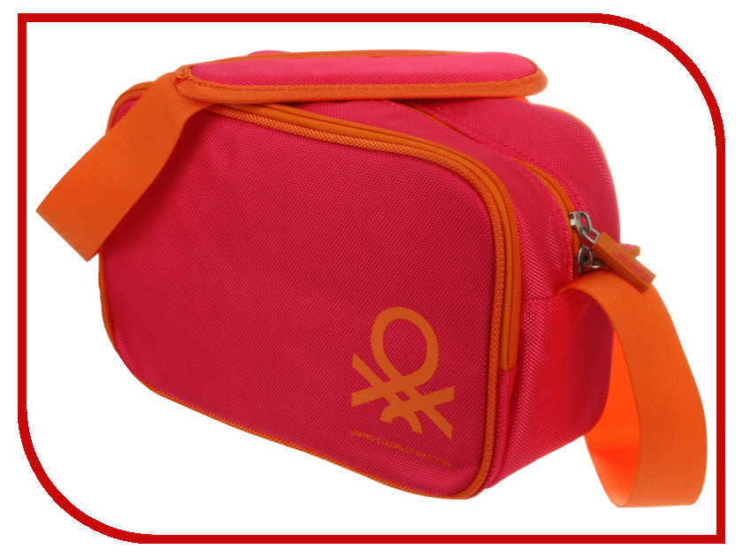Сумка Benetton Bridge Case L Digital Fuchsia<br>