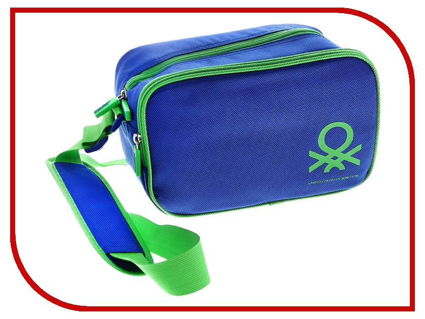 Сумка Benetton Bridge Case L Digital Blue