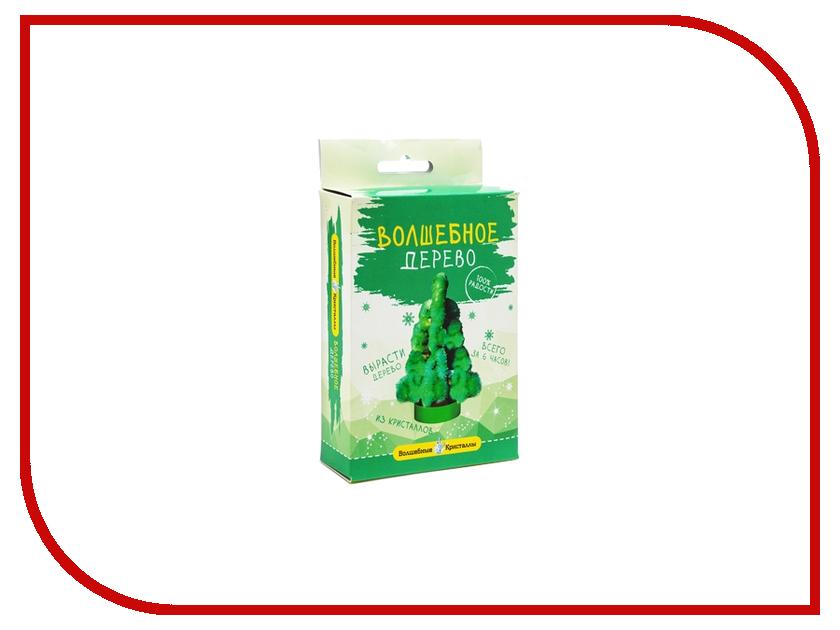 Набор для выращивания кристаллов Bumbaram Елочка зеленая CD-121G