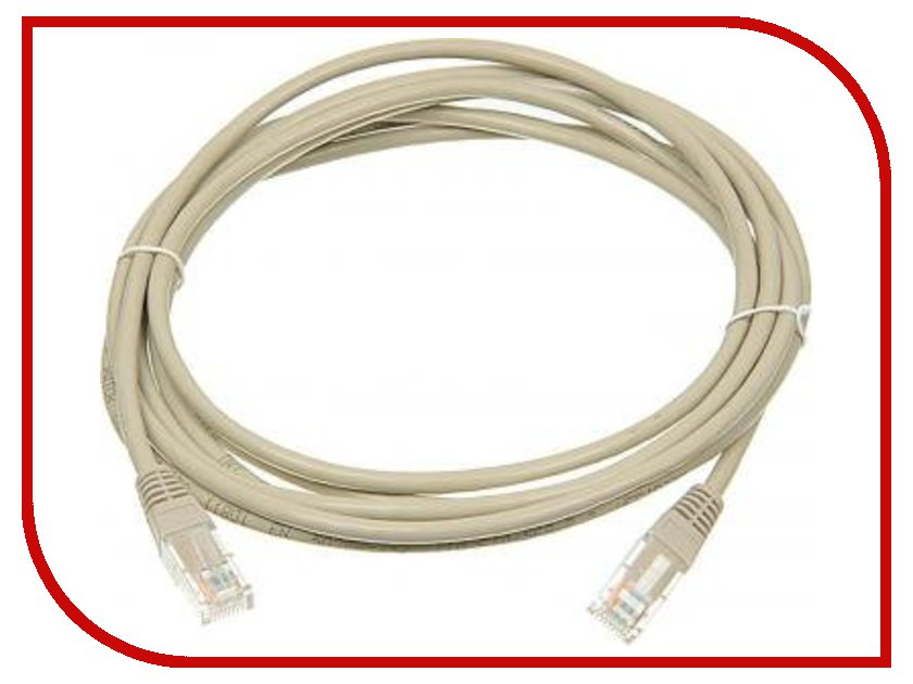 Аксессуар Hama Patch Cord CAT-5e UTP (RJ45) H-20146 1.5m кабель patch cord utp 5м категории 5е синий nm13001050bl