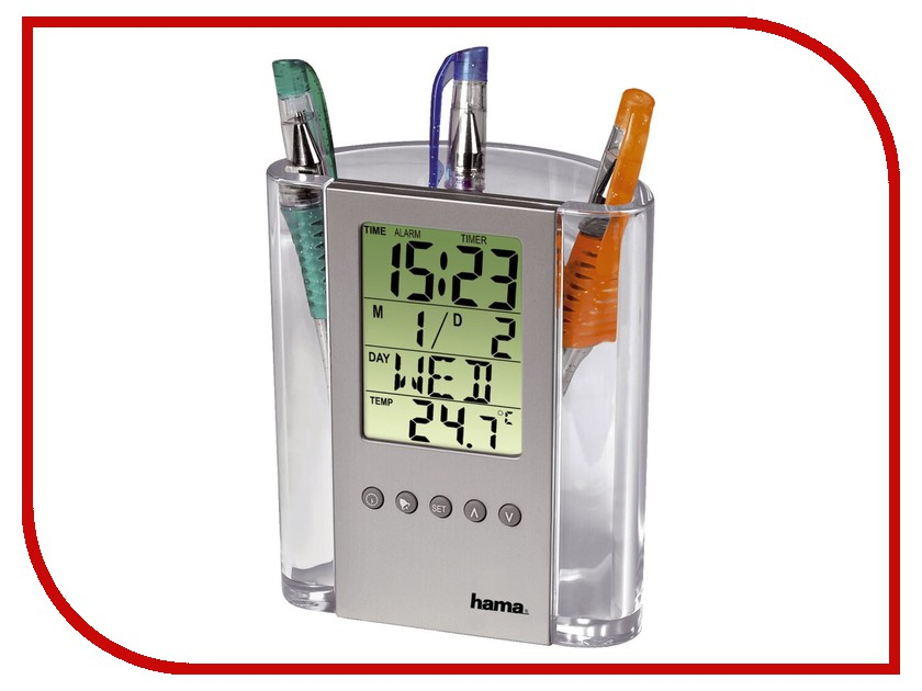 Термометр HAMA LCD Thermometer & Pen Holder