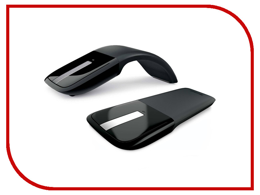 Мышь Microsoft Arc Touch Mouse USB RVF-00056 цена и фото