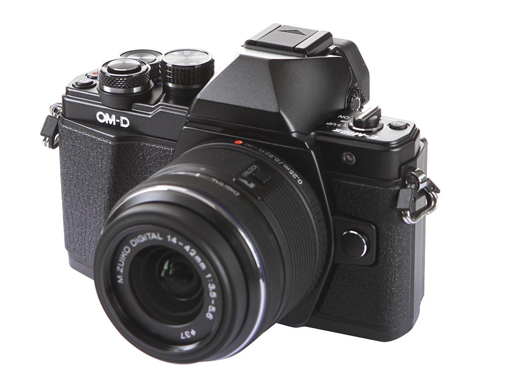 цена на Фотоаппарат Olympus OM-D E-M10 Mark II Kit 14-42 mm F/3.5-5.6 II R Black-Black