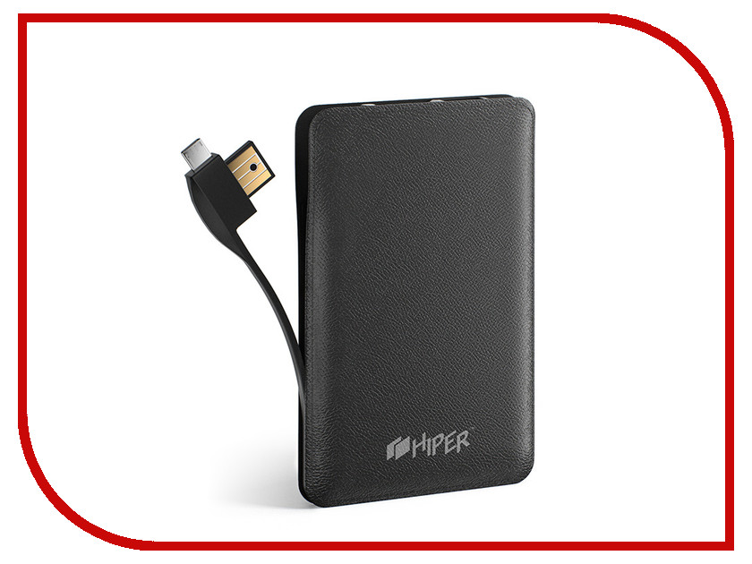 Аккумулятор Hiper Power Bank SPS6500 6500mAh Black аккумулятор hiper power bank ep6600 lady cat 6600mah