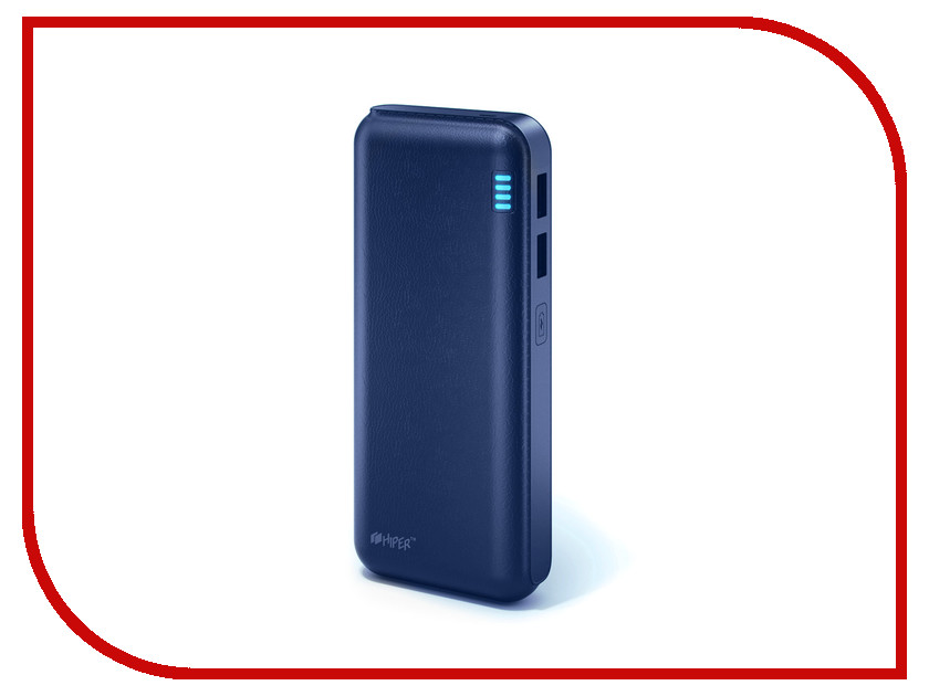 Аккумулятор HIPER Power Bank SP12500 12500mAh Indigo<br>