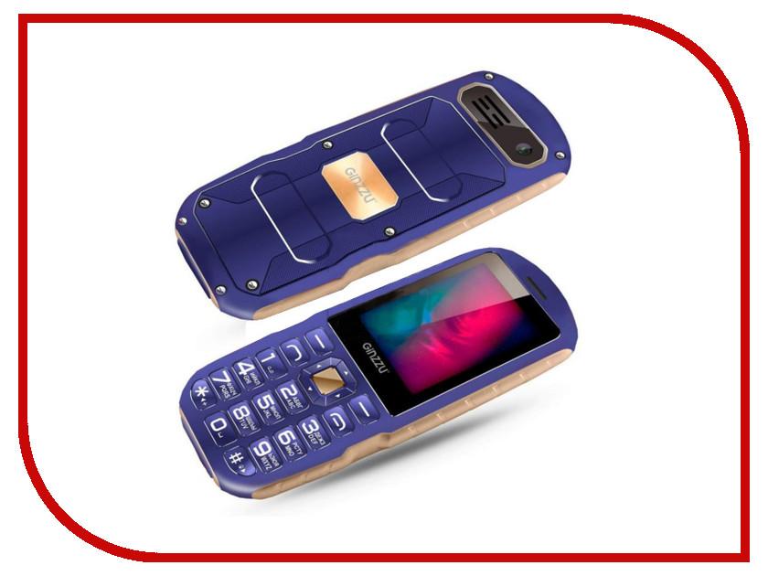 Сотовый телефон Ginzzu R1D Blue