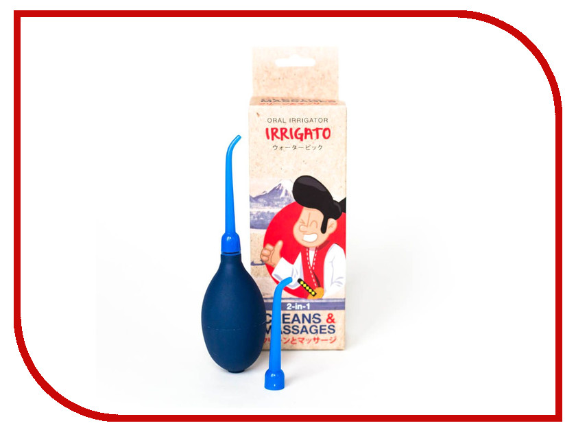 Ирригатор IRRIGATO Cleans & Massages