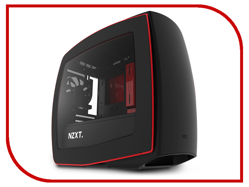 Корпус NZXT Manta Black-Red CA-MANTW-M2 барный стул woodville roxy бежевый