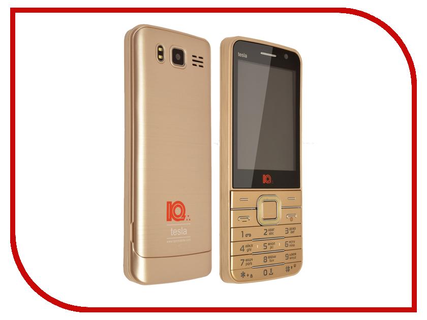 Сотовый телефон IQm Tesla Gold<br>