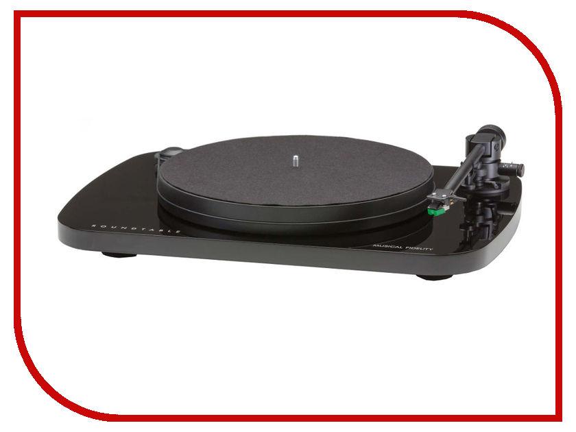 Проигрыватель виниловых дисков Musical Fidelity Round Table Turntable Black
