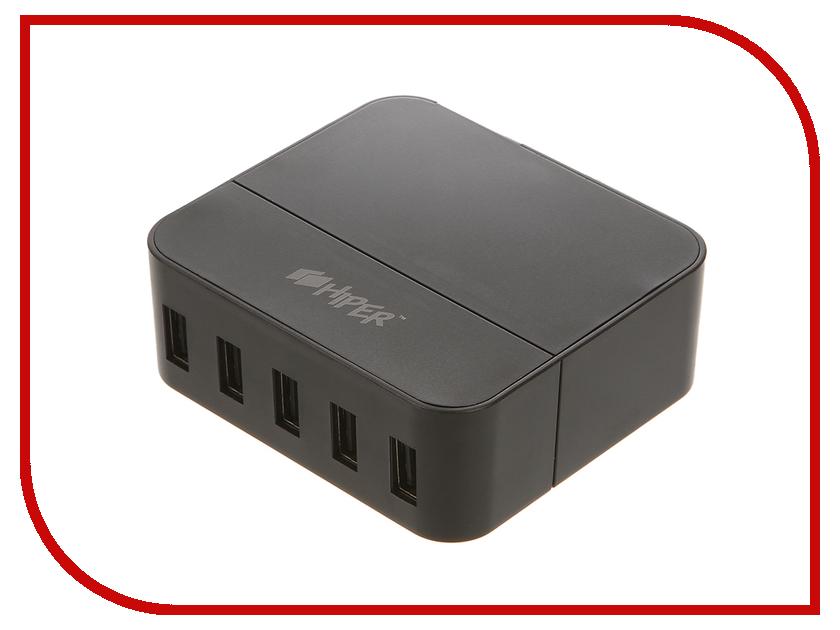Зарядное устройство HIPER DC1 5xUSB Black<br>