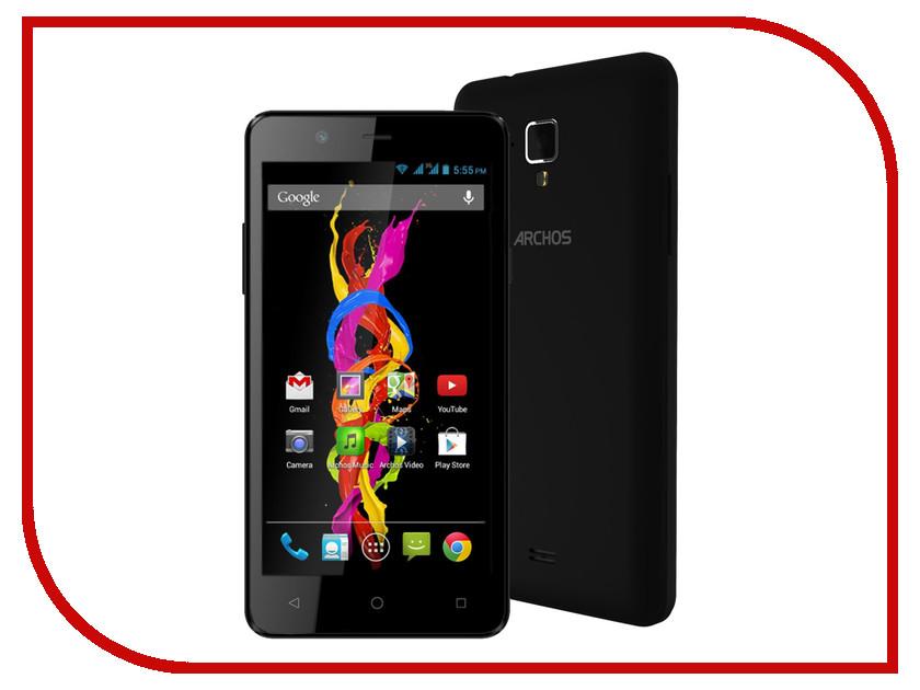 Сотовый телефон Archos 50 Titanium 4G Black<br>