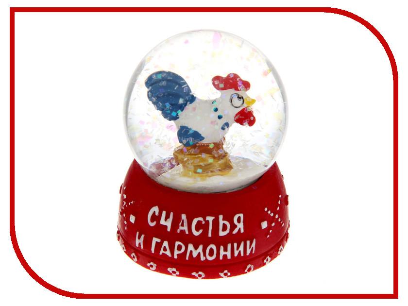 Снежный шар СИМА-ЛЕНД Счастья и гармонии 4.5см 1354023