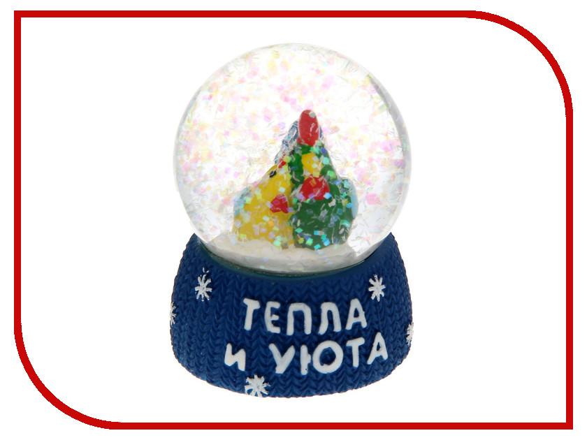 Снежный шар СИМА-ЛЕНД Тепла и уюта 4.5см 1354020