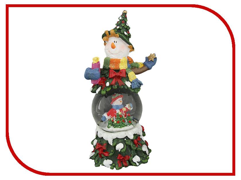 Снежный шар СИМА-ЛЕНД Снеговик-лесовик 1058590<br>