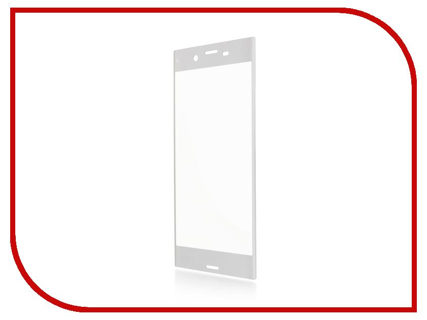 Аксессуар Защитное стекло для Sony Xperia XZ BROSCO 0.3mm Silver XZ-3D-GLASS-SILVER msd6a638jsm xz