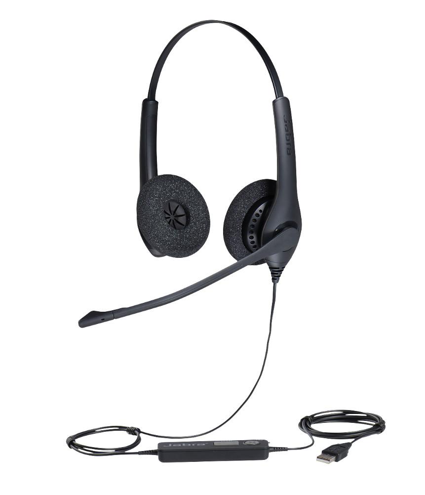 Наушники Jabra BIZ 1500 Duo USB NC Global 1559-0159 наушники jabra biz 2400 ii duo usb uc 2499 829 309
