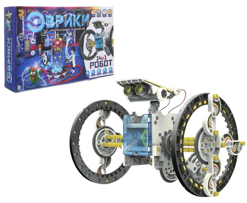 Конструктор Забияка Робот 14 в 1 1250594