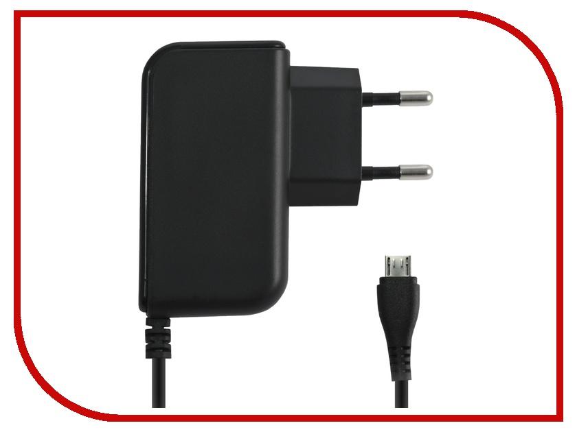 Зарядное устройство BB microUSB 1A 002-001 1.2m Black сетевое