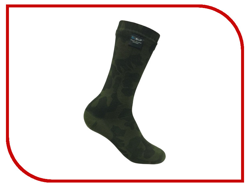 Носки Dexshell Camouflage waterproof DS736 L 43-46<br>