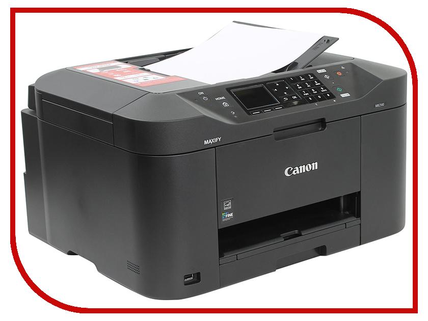 МФУ Canon MAXIFY MB2140 мфу струйный canon maxify mb2140 0959c007
