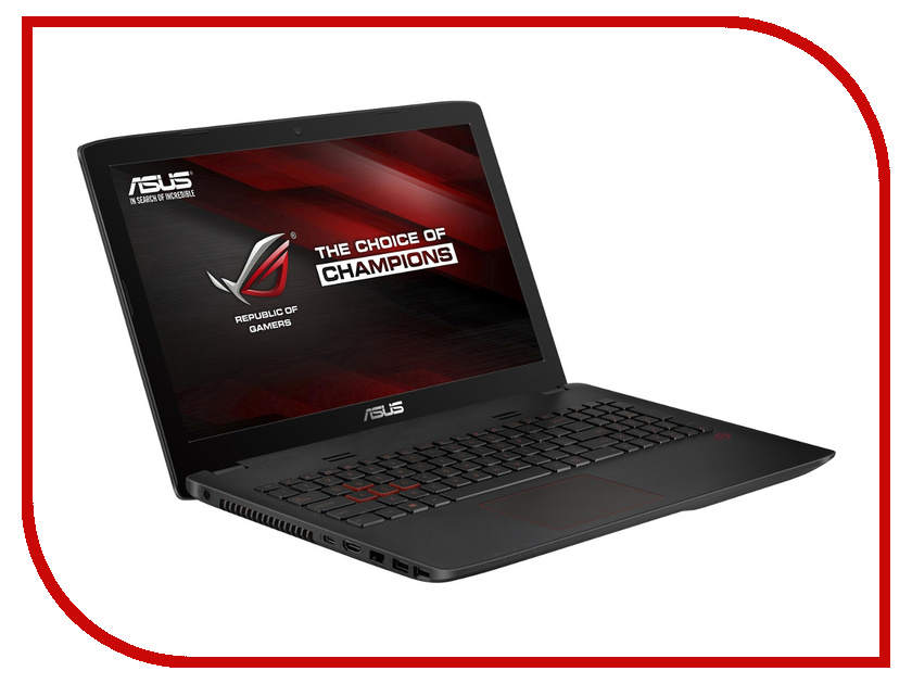 Ноутбук ASUS GL552VX-DM288D 90NB0AW3-M03520 Intel Core i5-6300HQ 2.3 GHz/8192Mb/2000Gb + 128Gb SSD/DVD-RW/nVidia GeForce GTX 950M 2048Mb/Wi-Fi/Bluetooth/Cam/15.6/1920x1080/DOS<br>
