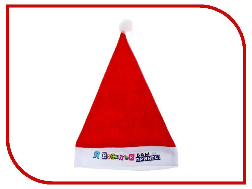 Новогодний сувенир СИМА-ЛЕНД Колпак Я веселье вам принес 1125310<br>