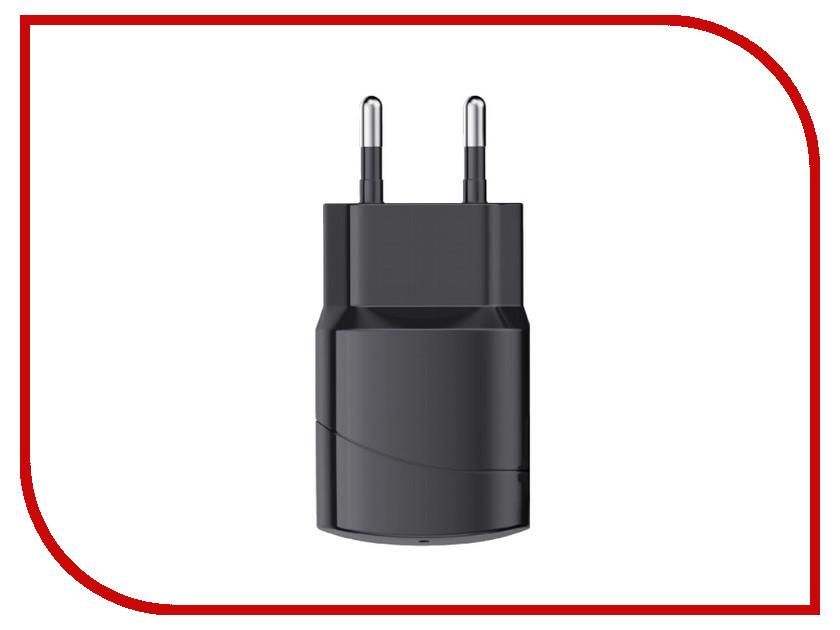 Зарядное устройство SEVEN USB 1A Black 1202