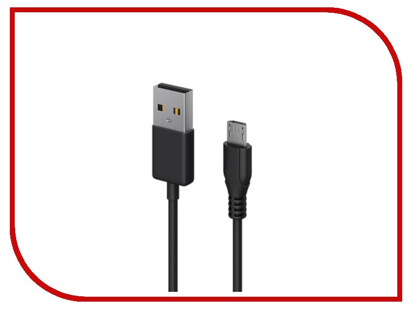 Аксессуар SEVEN USB - microUSB Black 1204<br>