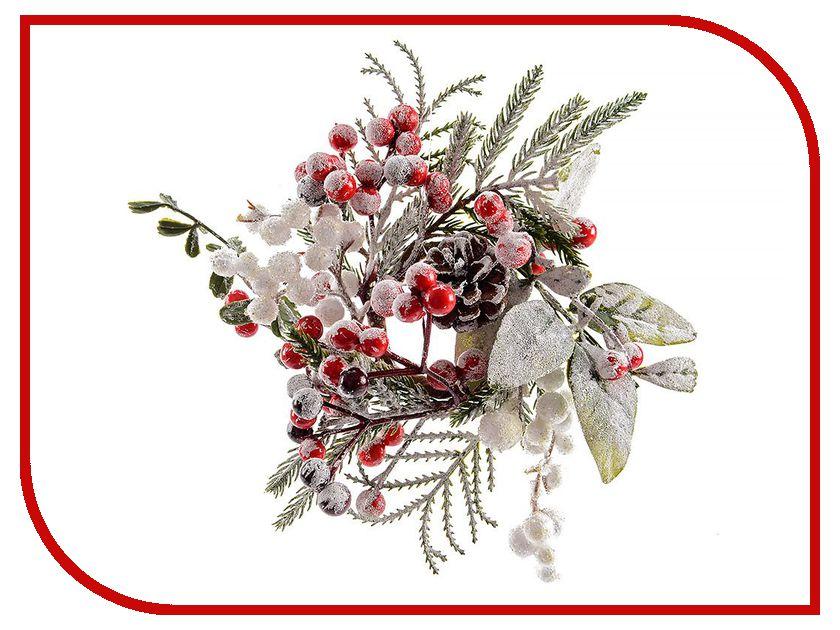Хвойный декор Kaemingk Морозная нежность - венок для свечи 13cm 627065<br>