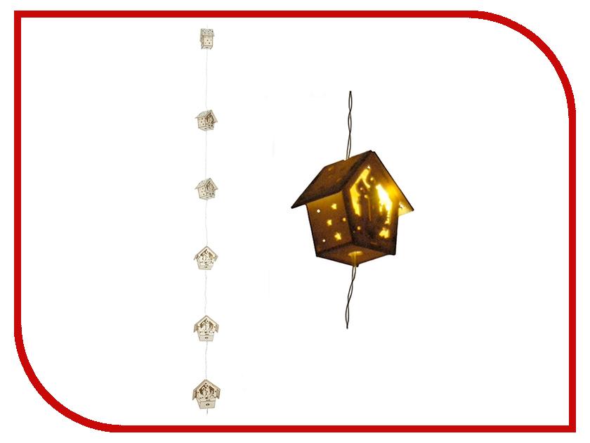 Гирлянда Koopman International Деревянные скворечники 1.2m DH9896410<br>