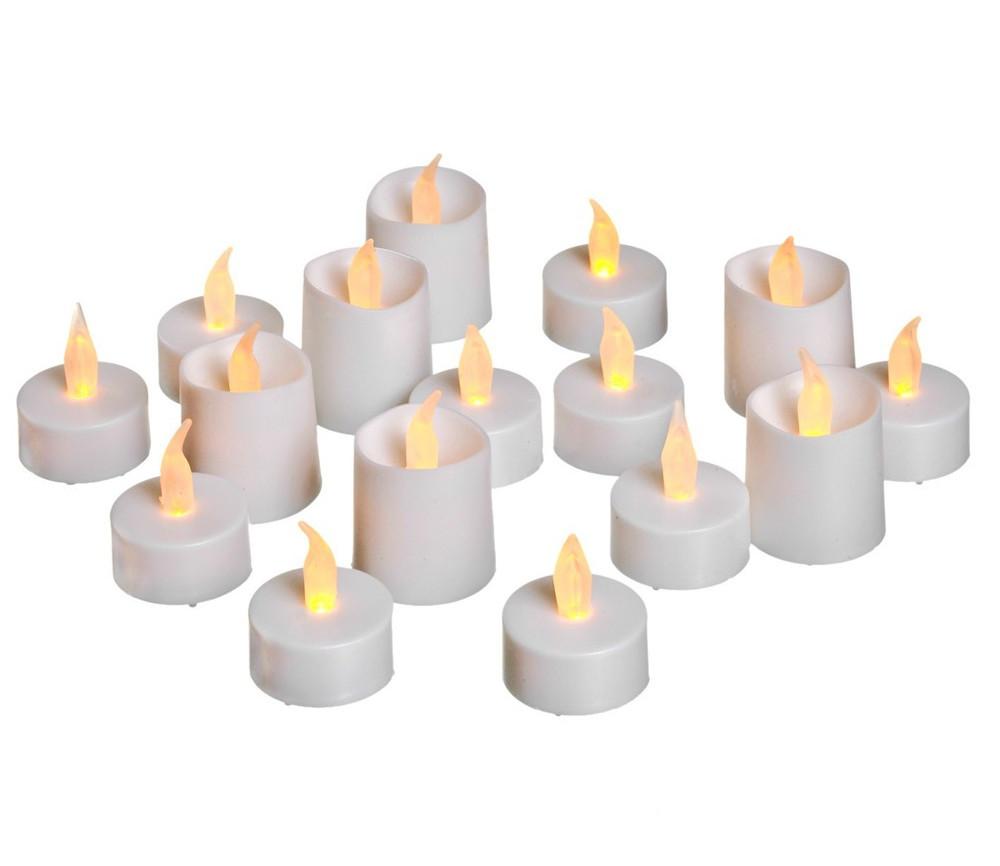 Светящееся украшение Koopman International Набор мерцающих LED-свечей 16шт XX8990050