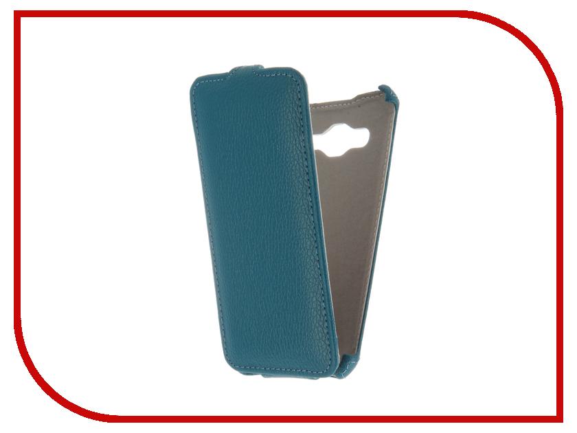 Аксессуар Чехол Samsung Galaxy J3 J320F/DS 2016 Gecko Turquoise GG-F-SGJ3-2016-TURG<br>