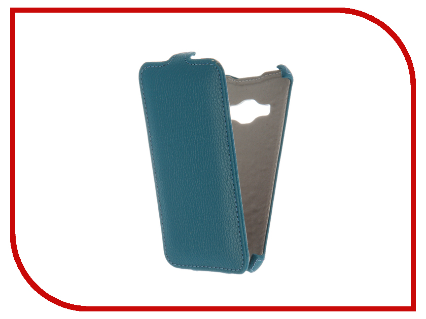 Аксессуар Чехол Samsung Galaxy J1 J120F/DS 2016 Gecko Turquoise GG-F-SGJ1-2016-TURG<br>