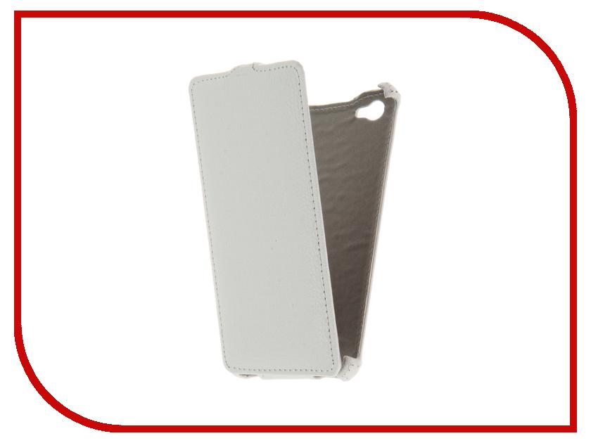Аксессуар Чехол Philips S326 3.5 Gecko White GG-F-PHS326-WH<br>