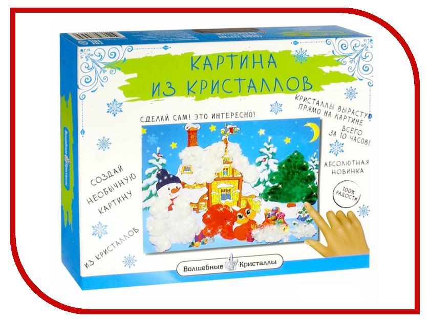 Новогодний сувенир Bumbaram Картина из кристаллов Зима CD-143-k