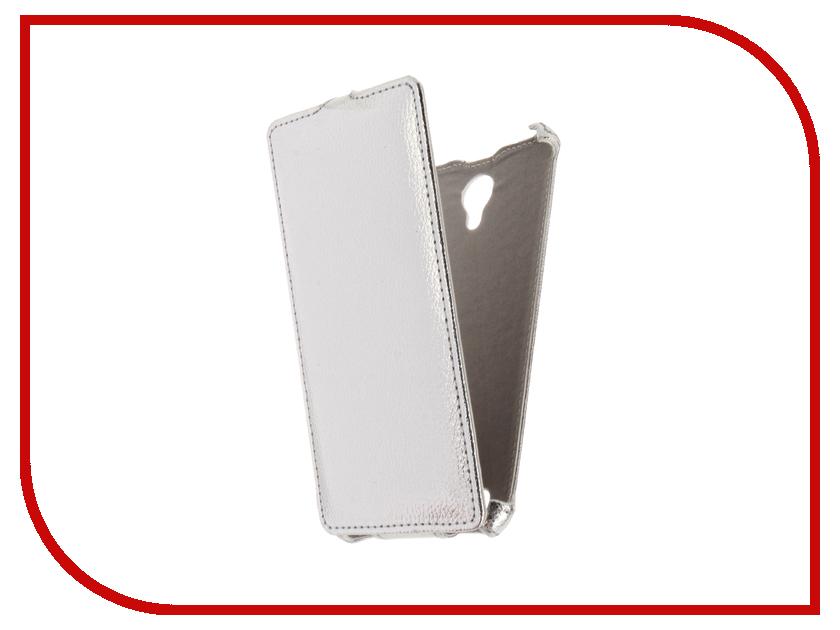 Аксессуар Чехол BQ BQS-5515 Wide Gecko Silver GG-F-BQ5515-SIL