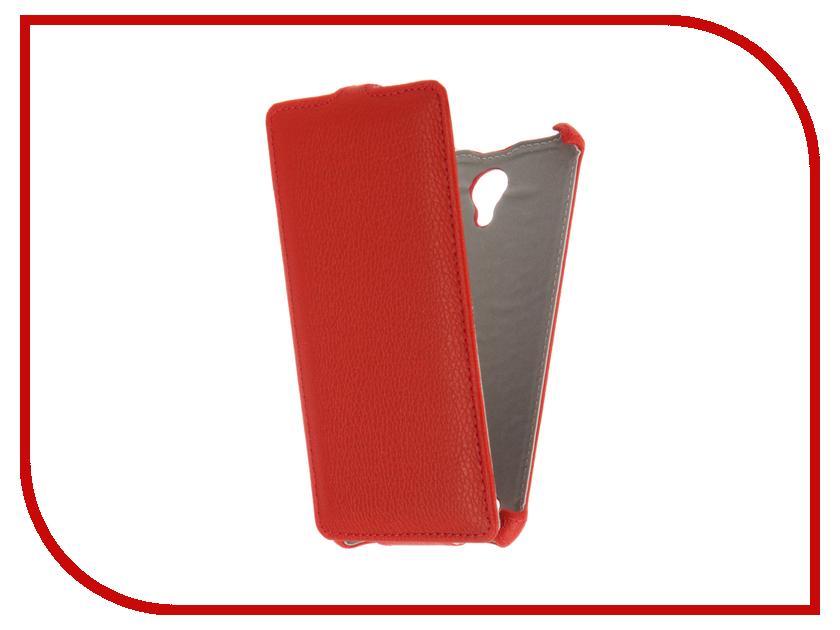 Аксессуар Чехол BQ BQS-5515 Wide Gecko Red GG-F-BQ5515-RED