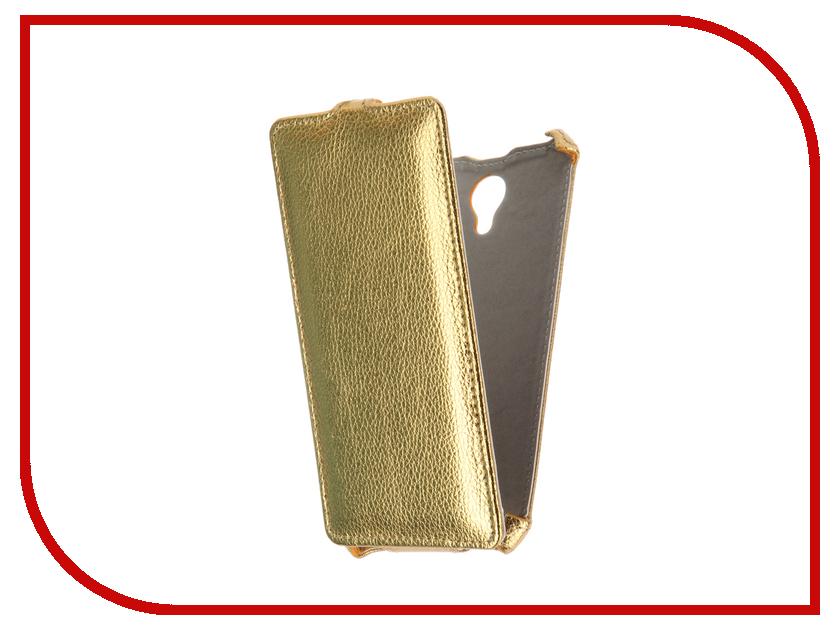 Аксессуар Чехол BQ BQS-5515 Wide Gecko Gold GG-F-BQ5515-GOLD