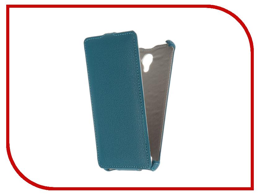 Аксессуар Чехол BQ BQS-5515 Wide Gecko Turquoise GG-F-BQ5515-TURG<br>