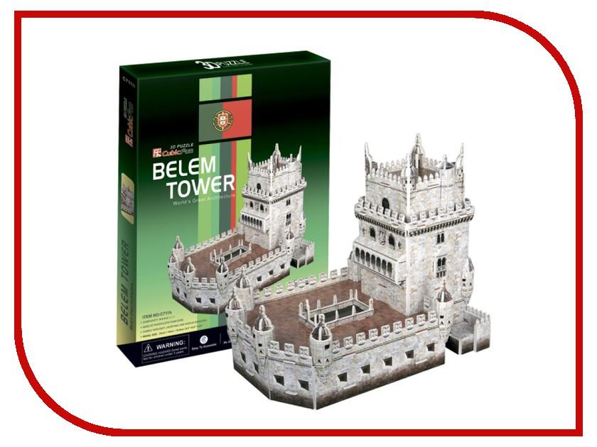 3D-пазл CubicFun Башня Белен C711h