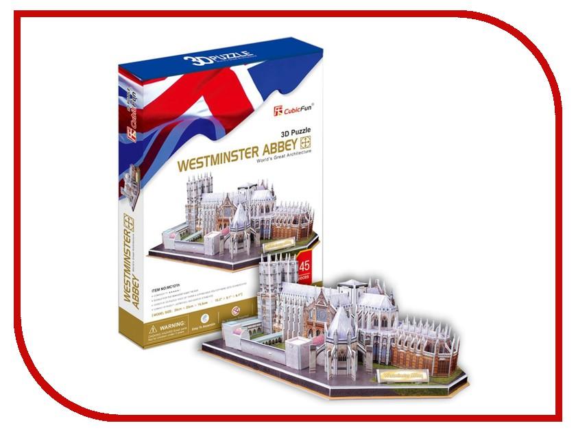 3D-пазл CubicFun Вестминстерское аббатство MC121h