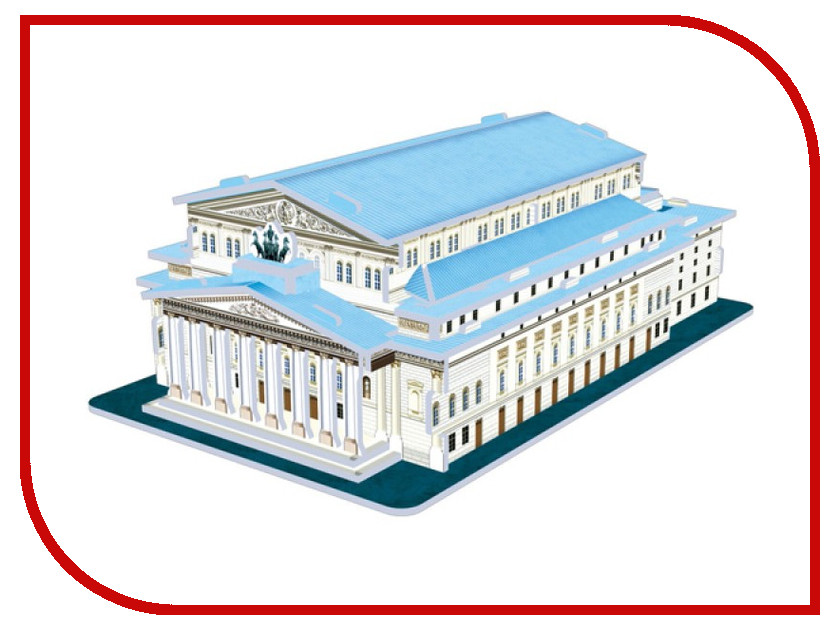 3D-пазл CubicFun Большой театр S3037 робинс книга 3d театр ферма