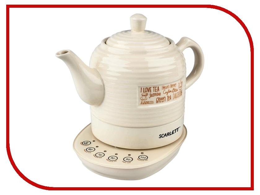 Чайник Scarlett SC-EK24C02 White чайник scarlett чайник scarlett sc ek14e04 white blue