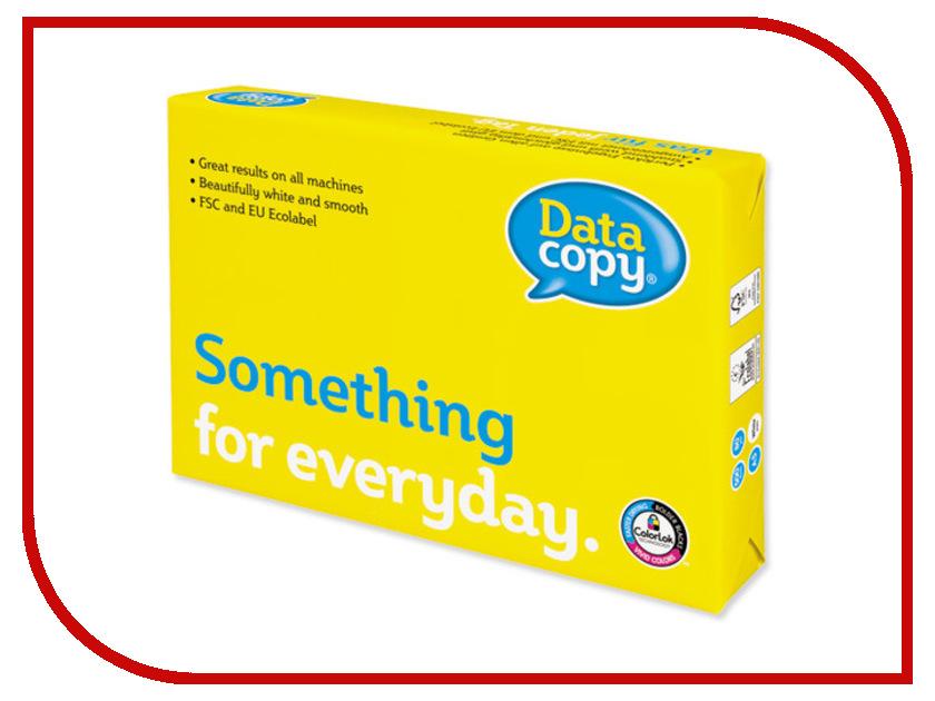 Бумага DATA COPY A4 80g/m2 500 листов A+ бумага iq color a4 80g m2 500 листов pastel dark cream sa24 110787