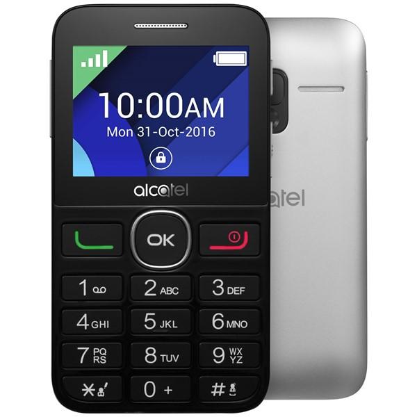 Сотовый телефон Alcatel OneTouch 2008G Black-Metal Silver мобильный телефон alcatel onetouch 2051d
