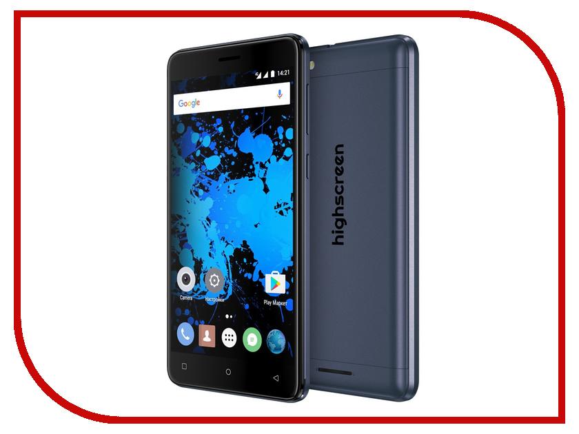 Сотовый телефон Highscreen Power Rage Evo Blue<br>