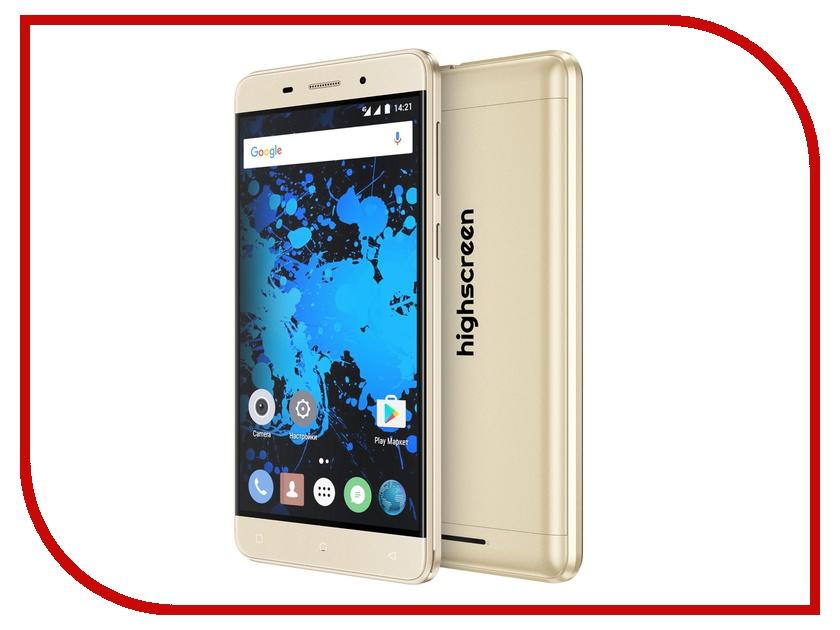 Сотовый телефон Highscreen Power Rage Evo Gold
