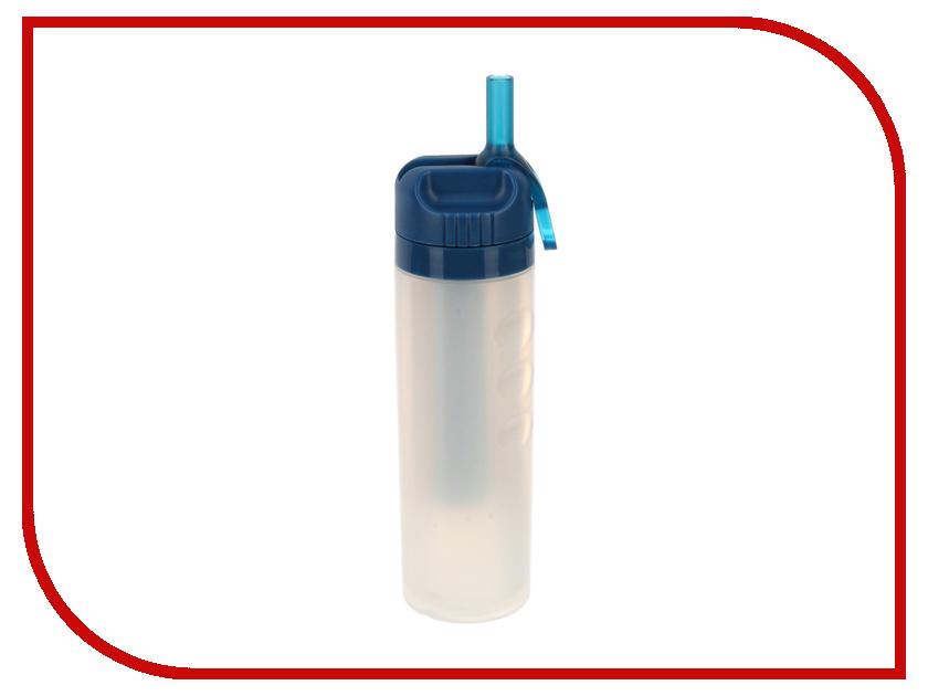 Бутылка Спортивный Элемент S22-600 600ml White-Blue бутылка спортивный элемент s52 2200 2 2l биотит