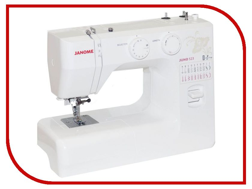Швейная машинка Janome Juno 523<br>